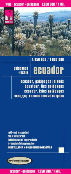 Buy map Ecuador and the Galapagos Islands by Reise Know-How Verlag