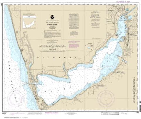 Buy map White Lake (14935-21) by NOAA