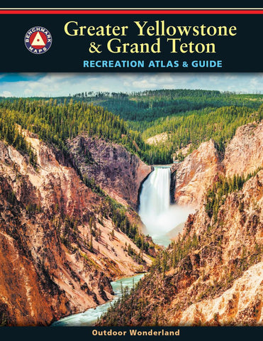 Buy map Greater Yellowstone and Grand Teton Recreation Atlas and Guide by Benchmark Maps