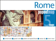Buy map Rome, Italy, PopOut Map by PopOut Products