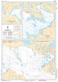 Buy map Approaches to/Approches a Cambridge Bay by Canadian Hydrographic Service