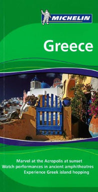 Buy map Greece, Green Guide by Michelin Maps and Guides