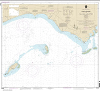 Buy map Punta Petrona to lsla Caja de Muertos (25685-9) by NOAA