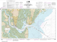 Buy map St. Simons Sound, Brunswick Harbor and Turtle River (11506-45) by NOAA