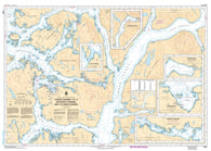 Buy map Fisher Channel to/a Seaforth Channel and/et Dean Channel by Canadian Hydrographic Service