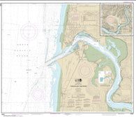 Buy map Yaquina Bay and River; Continuation of Yaquina River (18581-19) by NOAA