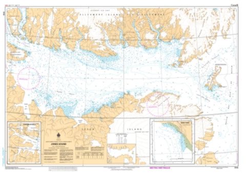 Buy map Jones Sound by Canadian Hydrographic Service