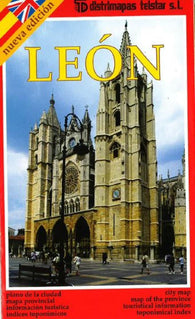 Buy map Leon, Spain by Distrimapas Telstar, S.L.