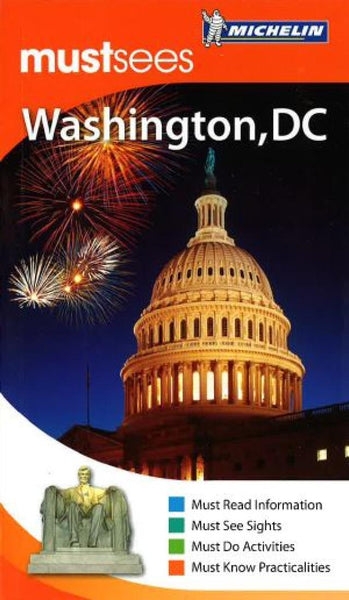 Buy map Washington D.C., Must See Guide by Michelin Maps and Guides