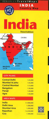 Buy map India by Periplus Editions