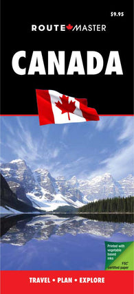 Buy map Canada Quick Fold, Laminated by Route Master