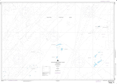 Buy map Vanguard Bank To Spratly Island (NGA-93049-1) by National Geospatial-Intelligence Agency