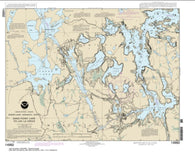 Buy map Sand Point Lake to Lac la Croix, including Crane Lake and Little Vermilon Lake (14992-11) by NOAA