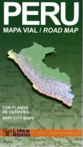 Buy map Peru Road Map by Lima 2000