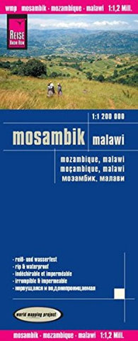 Buy map Mozambique and Malawi by Reise Know-How Verlag