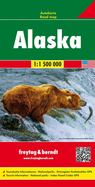 Buy map Alaska Road Map by Freytag-Berndt und Artaria