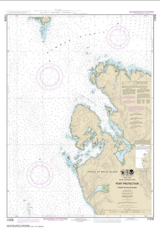 Buy map Port Protection, Prince of Wales Island (17378-15) by NOAA