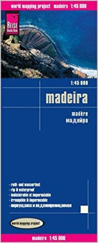 Buy map Madeira, Spain by Reise Know-How Verlag