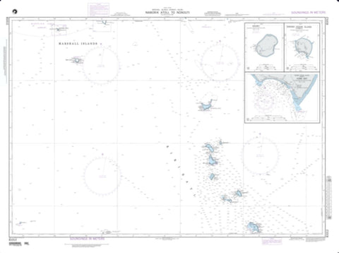 Buy map Normorik Atoll To Nonouti - Marshall Islands (NGA-81012-3) by National Geospatial-Intelligence Agency