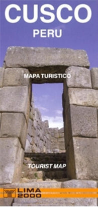 Buy map Cusco, Peru, Tourist/Travelers Map by Lima 2000