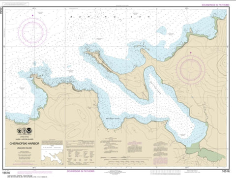Buy map Chernofski Harbor (16516-8) by NOAA