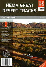 Buy map Australia, Central Sheet, Great Desert Tracks, 7th edition by Hema Maps