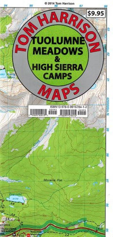 Buy map Tuolumne Meadows and High Sierra Camp Loop by Tom Harrison Maps