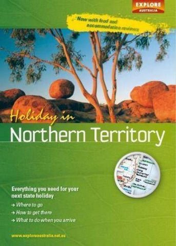 Buy map Holiday in Northern Territory by Universal Publishers Pty Ltd