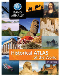 Buy map Historical Atlas of the World by Rand McNally