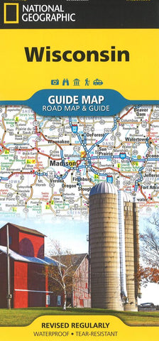 Buy map Wisconsin Guide Map by National Geographic Maps