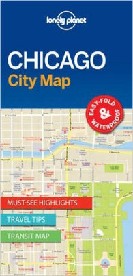 Buy map Chicago, Illinois City Map by Lonely Planet Publications
