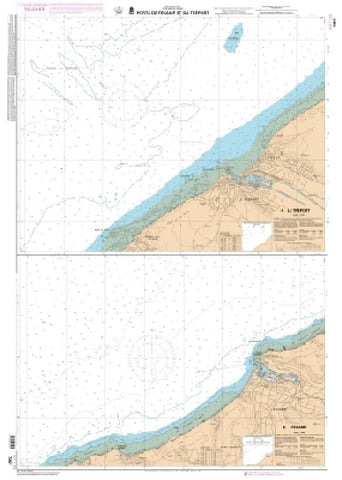 Buy map Ports de Fecamp et du Treport by SHOM