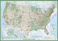 Buy map United States of America, The Essential Geography of the by Imus Geographics