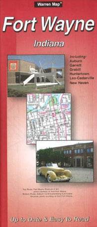 Buy map Fort Wayne, Indiana by The Seeger Map Company Inc.