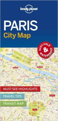 Buy map Paris City Map by Lonely Planet Publications