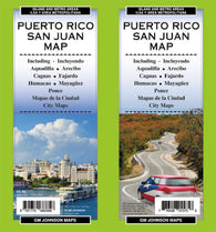 Buy map San Juan, Puerto Rico by GM Johnson