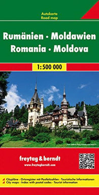Buy map Romania and Moldova by Freytag-Berndt und Artaria