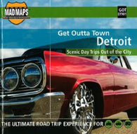 Buy map Detroit, Michigan, Get Outta Town by MAD Maps