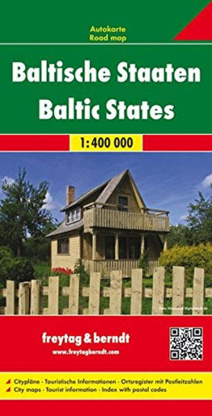 Buy map Baltic States by Freytag-Berndt und Artaria