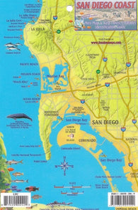 Buy map California Fish Card -San Diego 2010 by Frankos Maps Ltd.