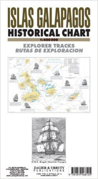 Buy map Galapagos Islands Historical Chart by Zagier y Urruty