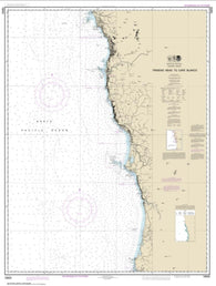 Buy map Trinidad Head to Cape Blanco (18600-15) by NOAA