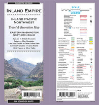 Buy map Inland Empire, Eastern Washington and Northern Idaho by GM Johnson