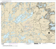 Buy map Sea Gull Lake (14984-9) by NOAA