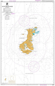Buy map AUCKLAND ISLANDS (286) by Land Information New Zealand (LINZ)