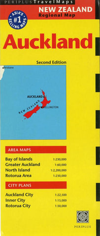 Buy map Auckland, New Zealand by Periplus Editions