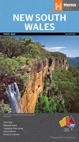 Buy map New South Wales, Australia by Hema Maps