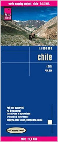 Buy map Chile by Reise Know-How Verlag