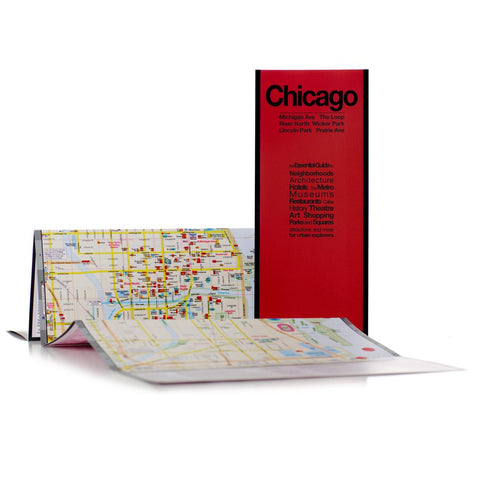 Buy map Chicago, Illinois by Red Maps
