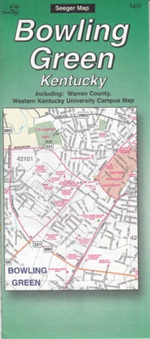 Buy map Bowling Green, Kentucky by The Seeger Map Company Inc.